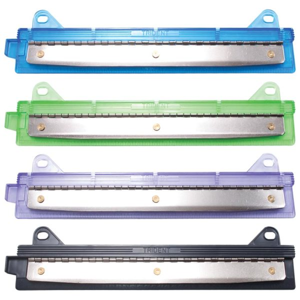 three hole binder punch in assorted colors